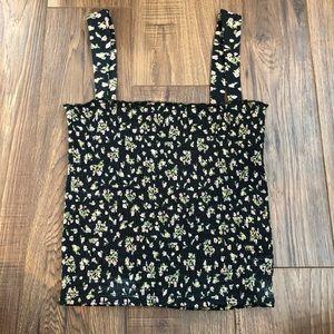 Billabong Tops - Billabong floral scrunched tank top!!